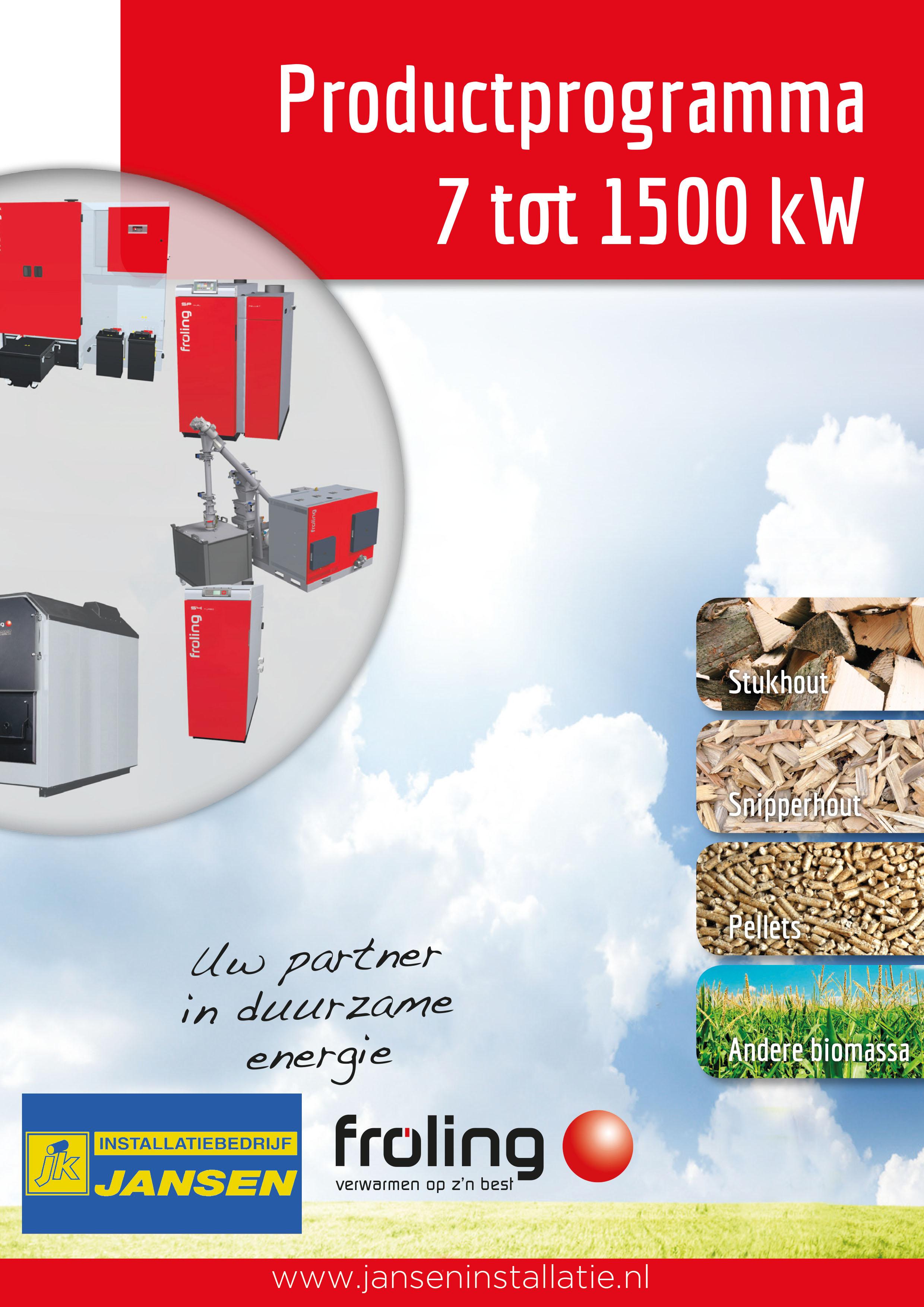 Biomassaketel duurzaam milieuvriendelijk