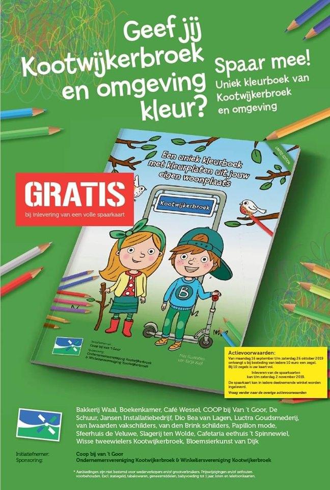 uniek kleurboek kootwijkerbroek