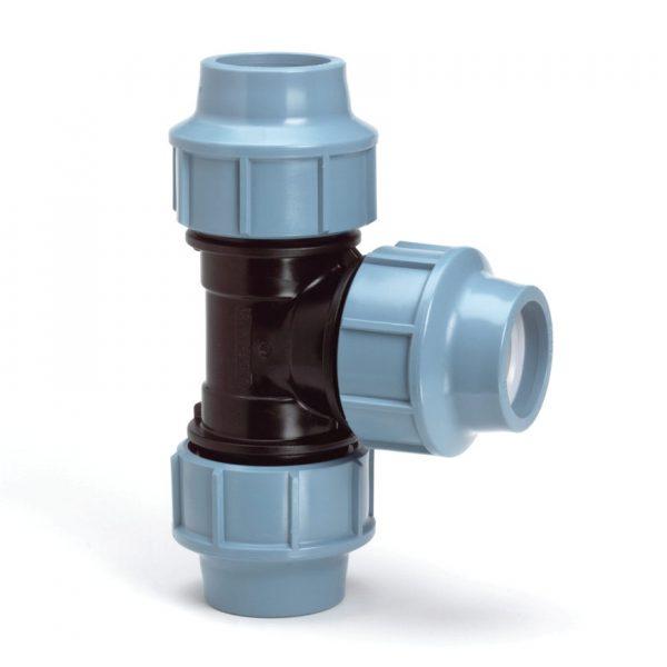 unidelta t-stuk drinkwaterleidingen