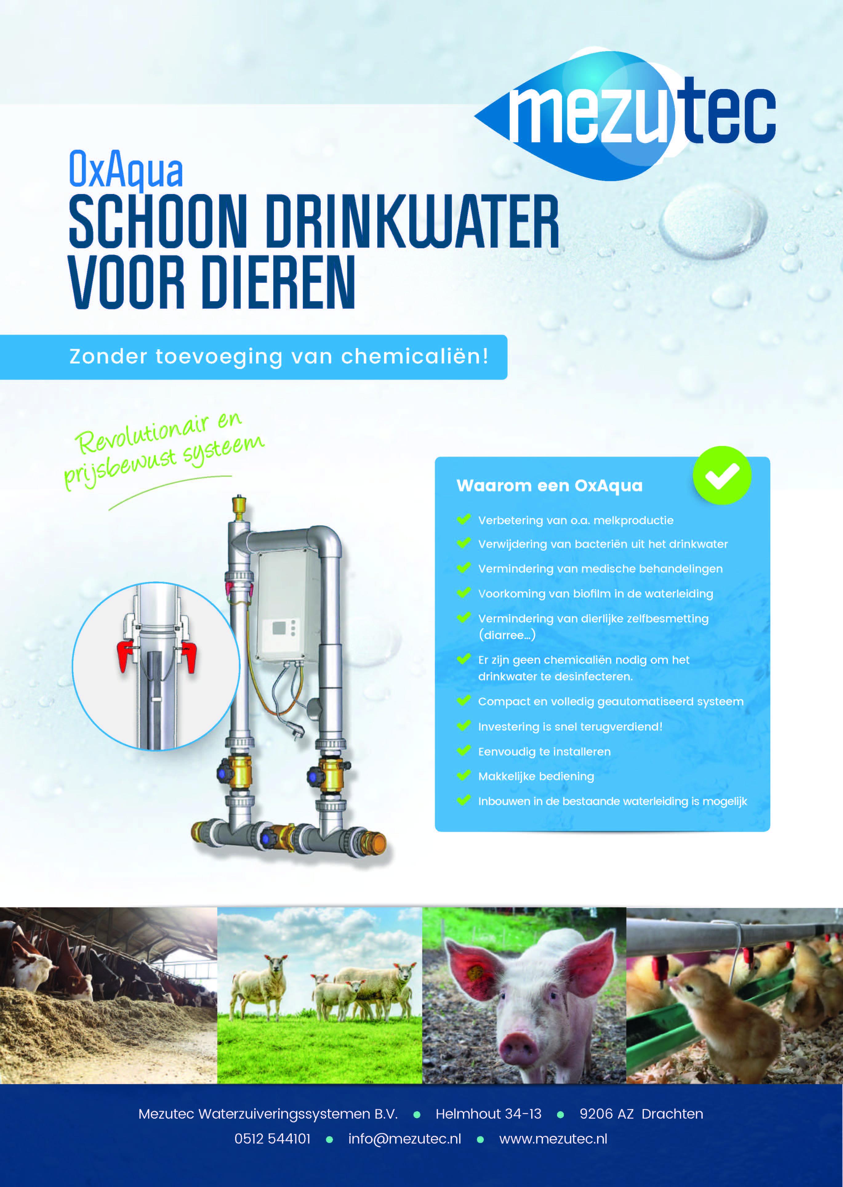 schoon drinkwater voor dieren