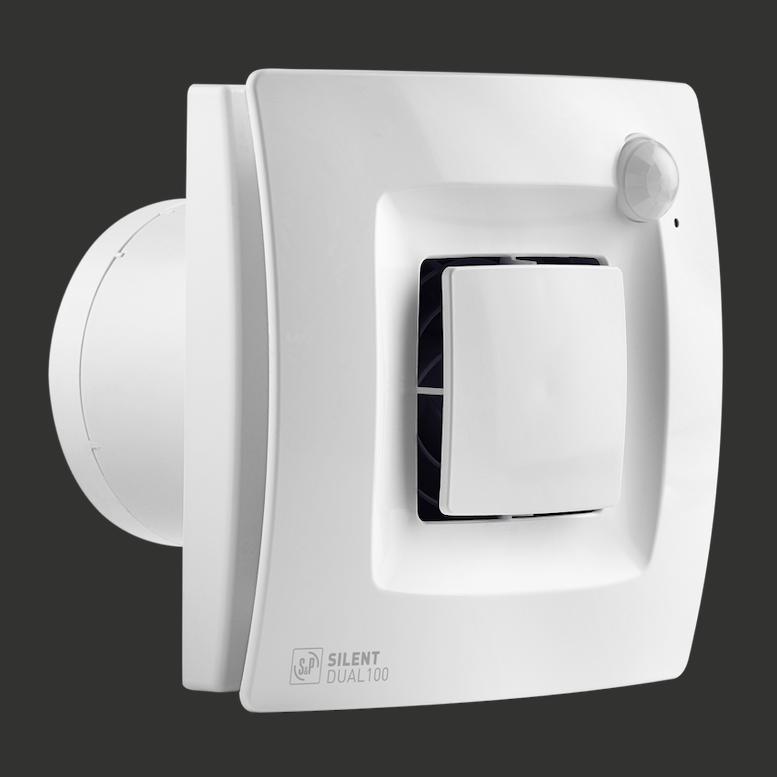 ventilatie aanwezigheidssensor vochtsensor