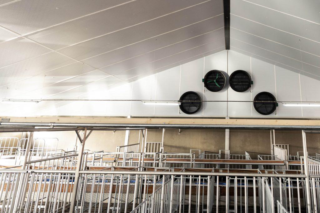 kalverstal automatisering ventilatiesystemen
