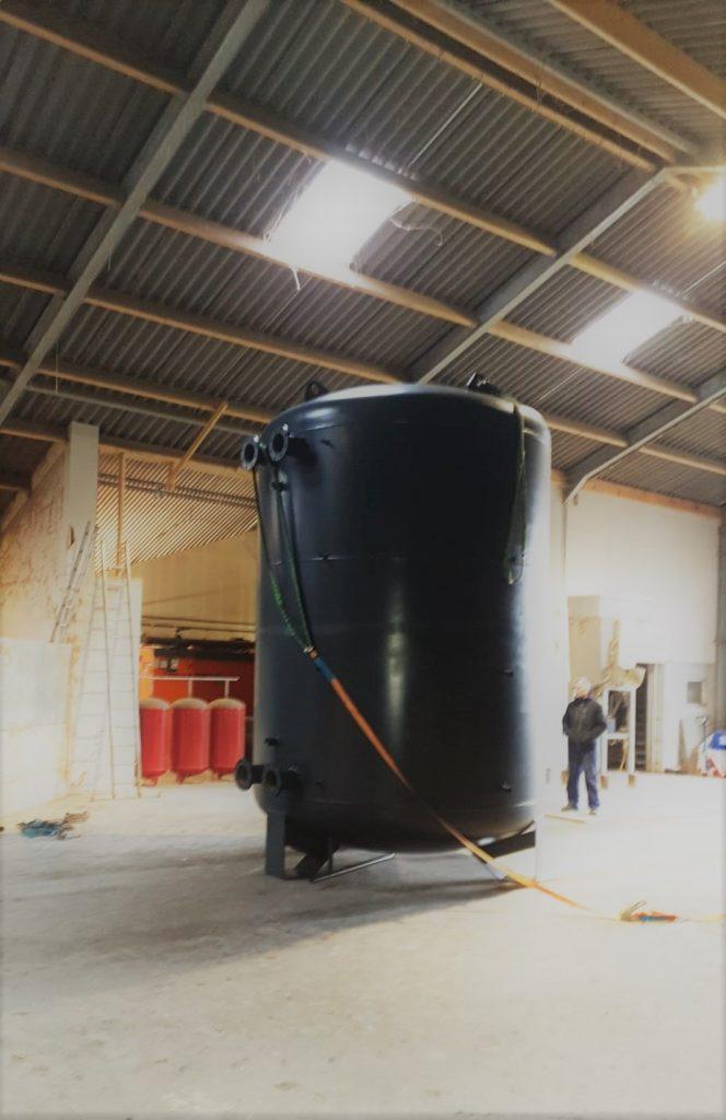 buffertank expansievat leidingen